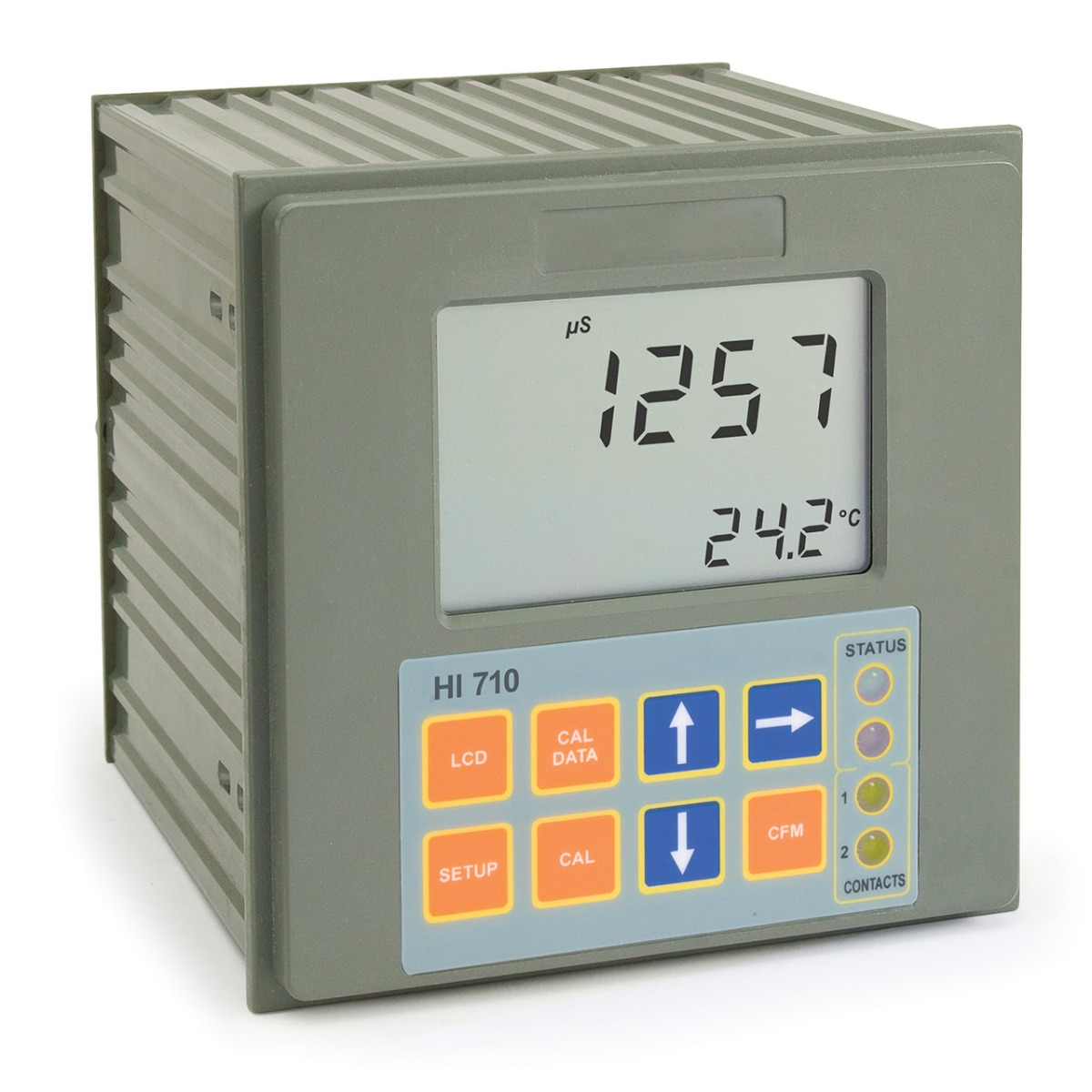 Panel-mounted Conductivity & TDS Controller - HI710