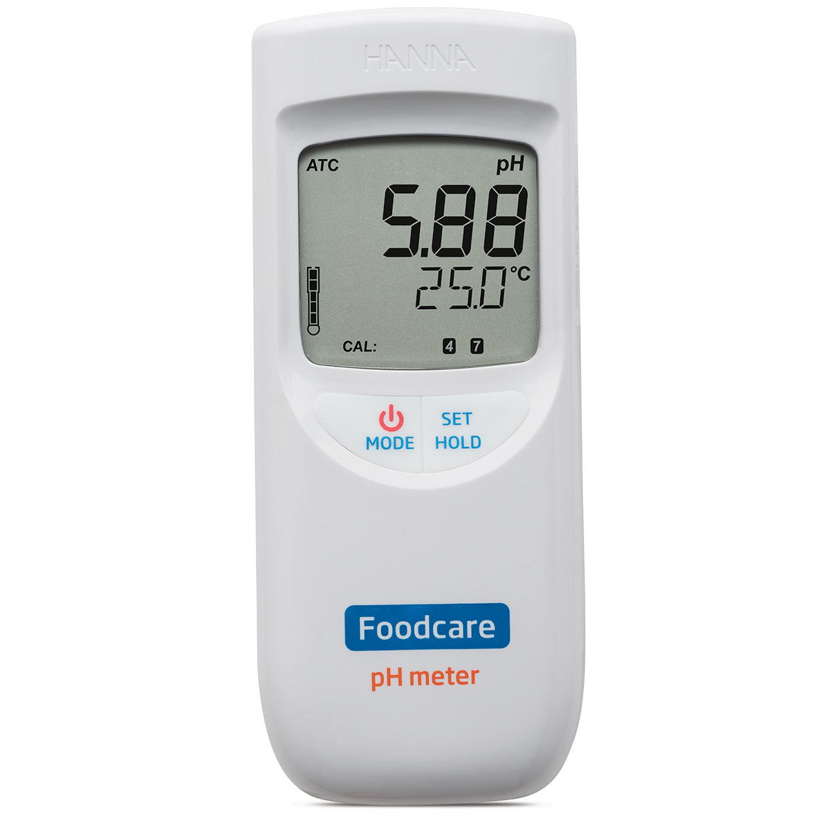 Portable Food and Dairy pH Meter - HI99161