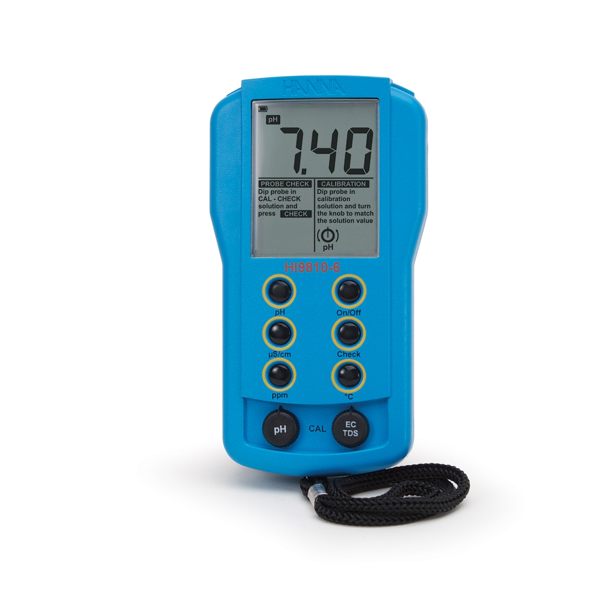 Portable pH/EC/TDS Meter - HI9810-6