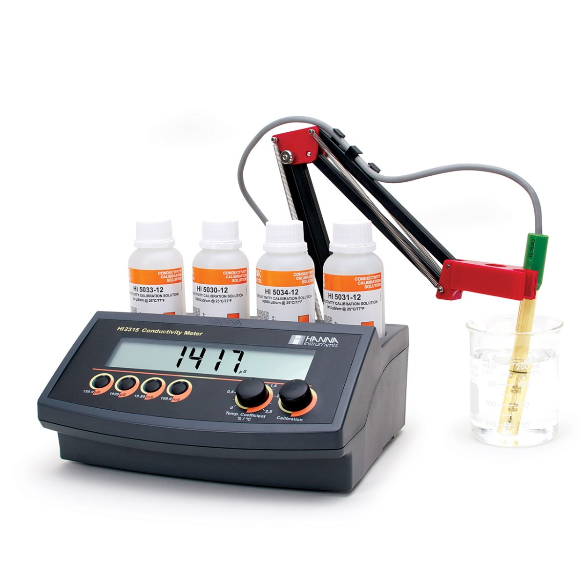 Benchtop Conductivity Meter with ATC - HI2315