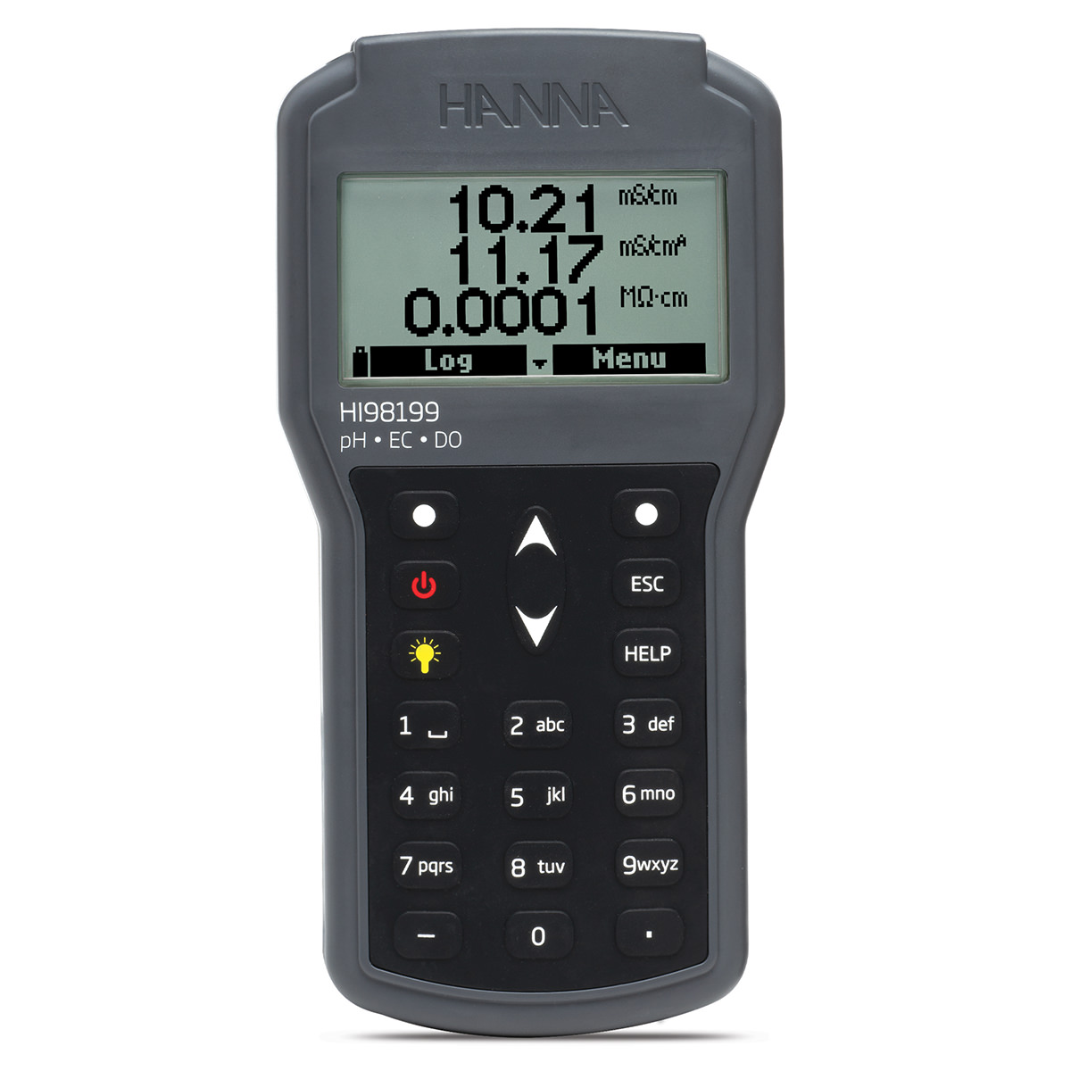Multiparameter Portable pH/EC/DO Waterproof Meter - HI98199