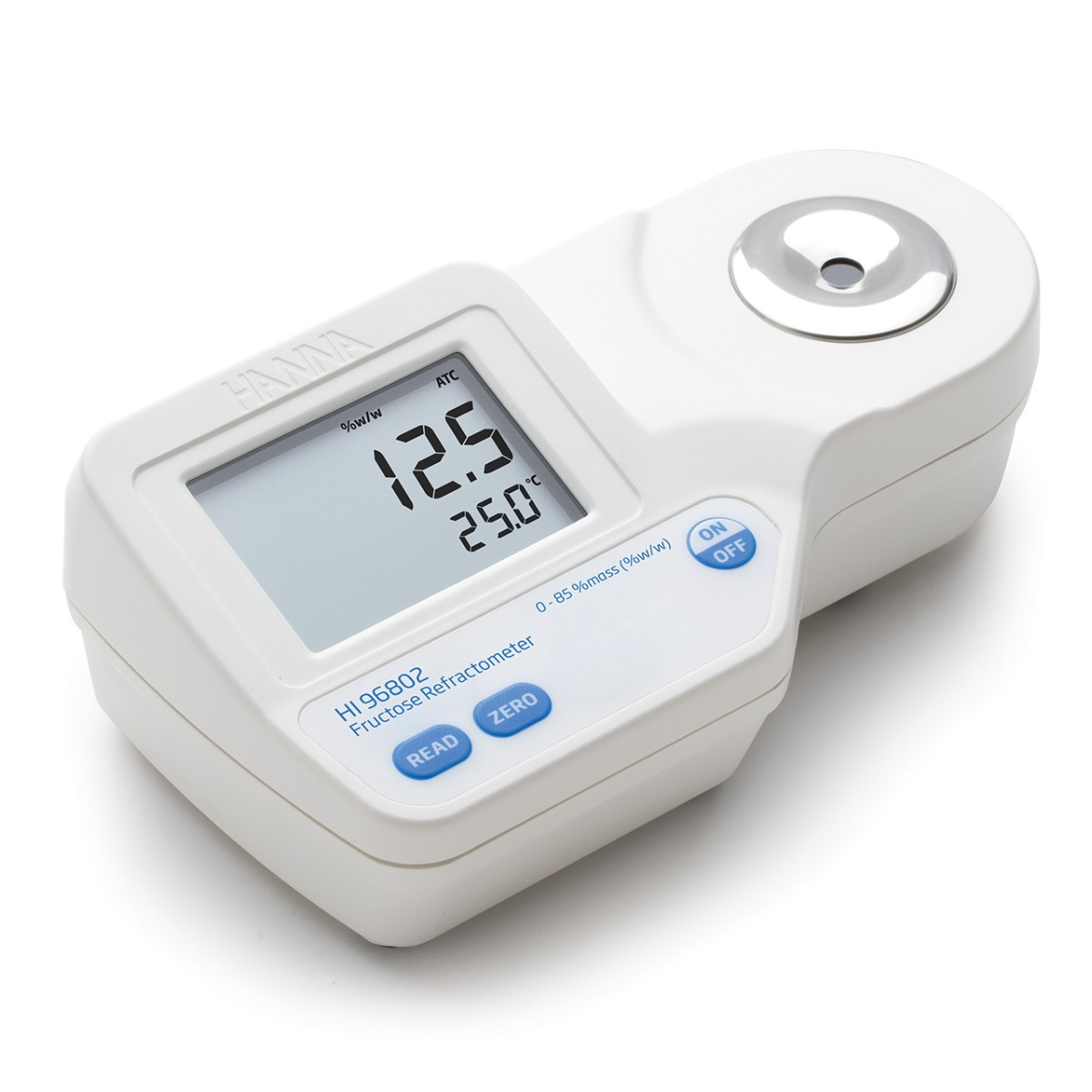 Digital Refractometer for % Fructose by Weight Analysis - HI96802