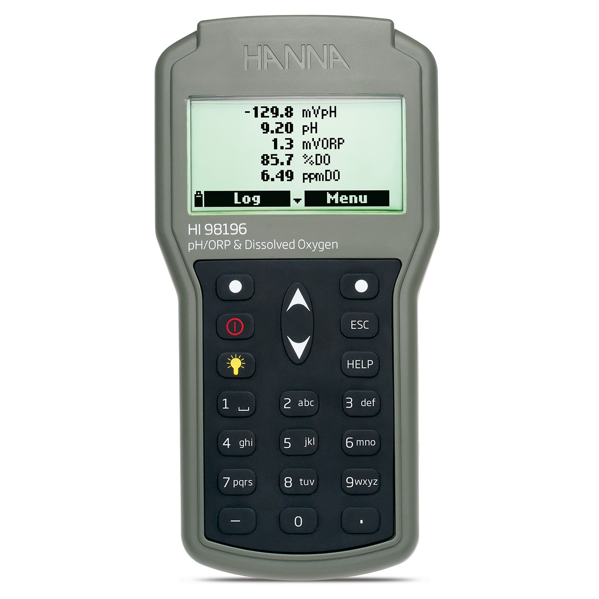 Multiparameter pH/ORP/DO/Pressure/Temperature Waterproof Meter - HI98196