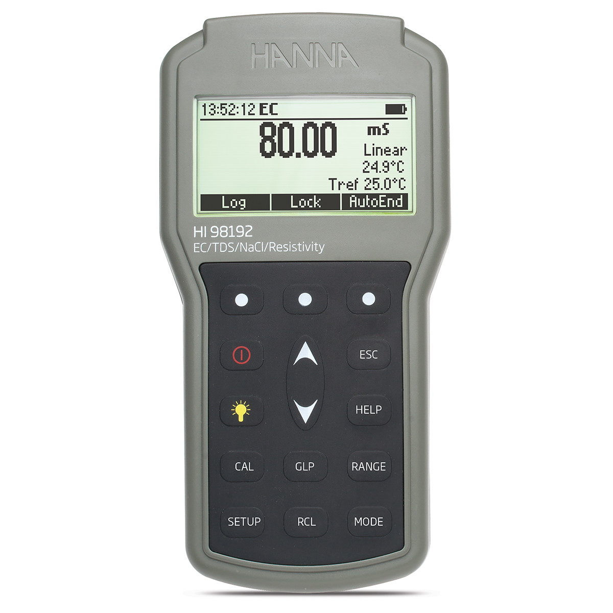 Waterproof Portable EC/TDS/Resistivity/Salinity Meter - HI98192