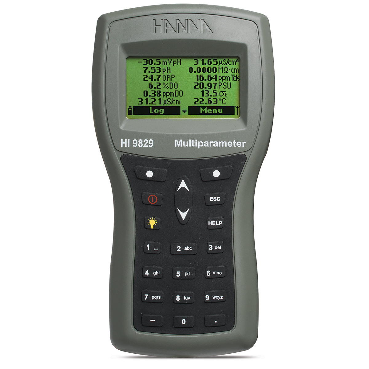 HI9829 Multiparameter pH/ISE/EC/DO/Turbidity Waterproof Meter with GPS option