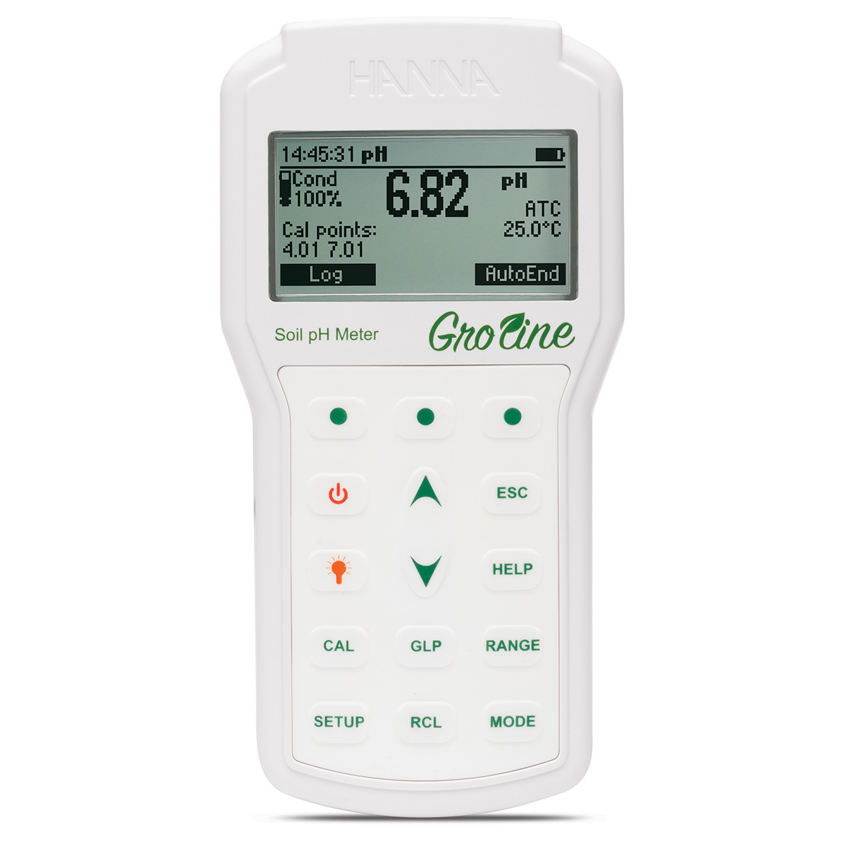 Professional GroLine Portable Soil pH Meter - HI98168
