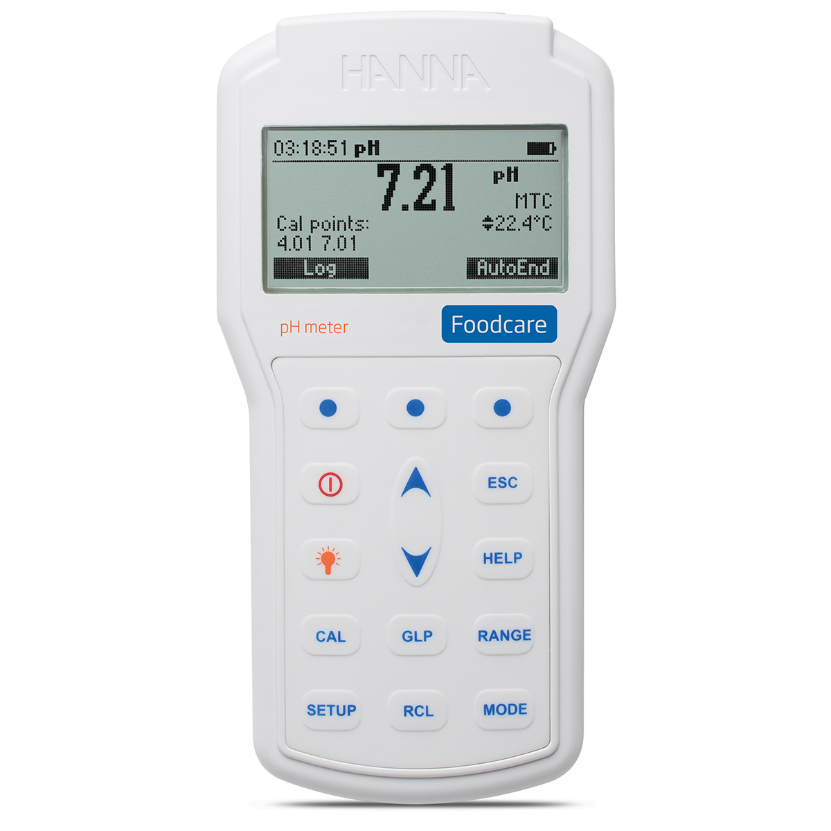 Professional Foodcare Portable pH Meter - HI98161