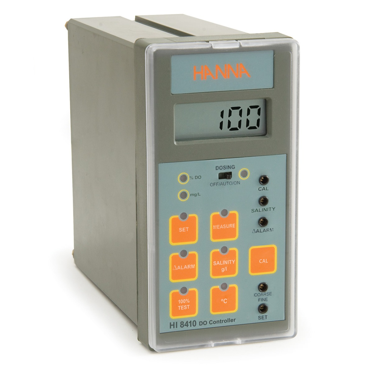 Dissolved Oxygen Controller with Extended Range and Analog Output - HI8410