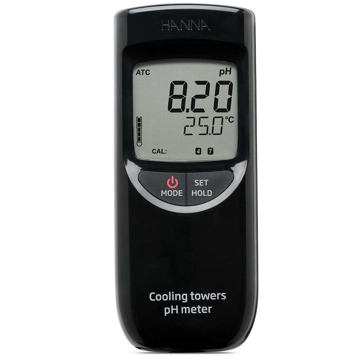 Boiler and Cooling Tower pH Portable Meter - HI99141