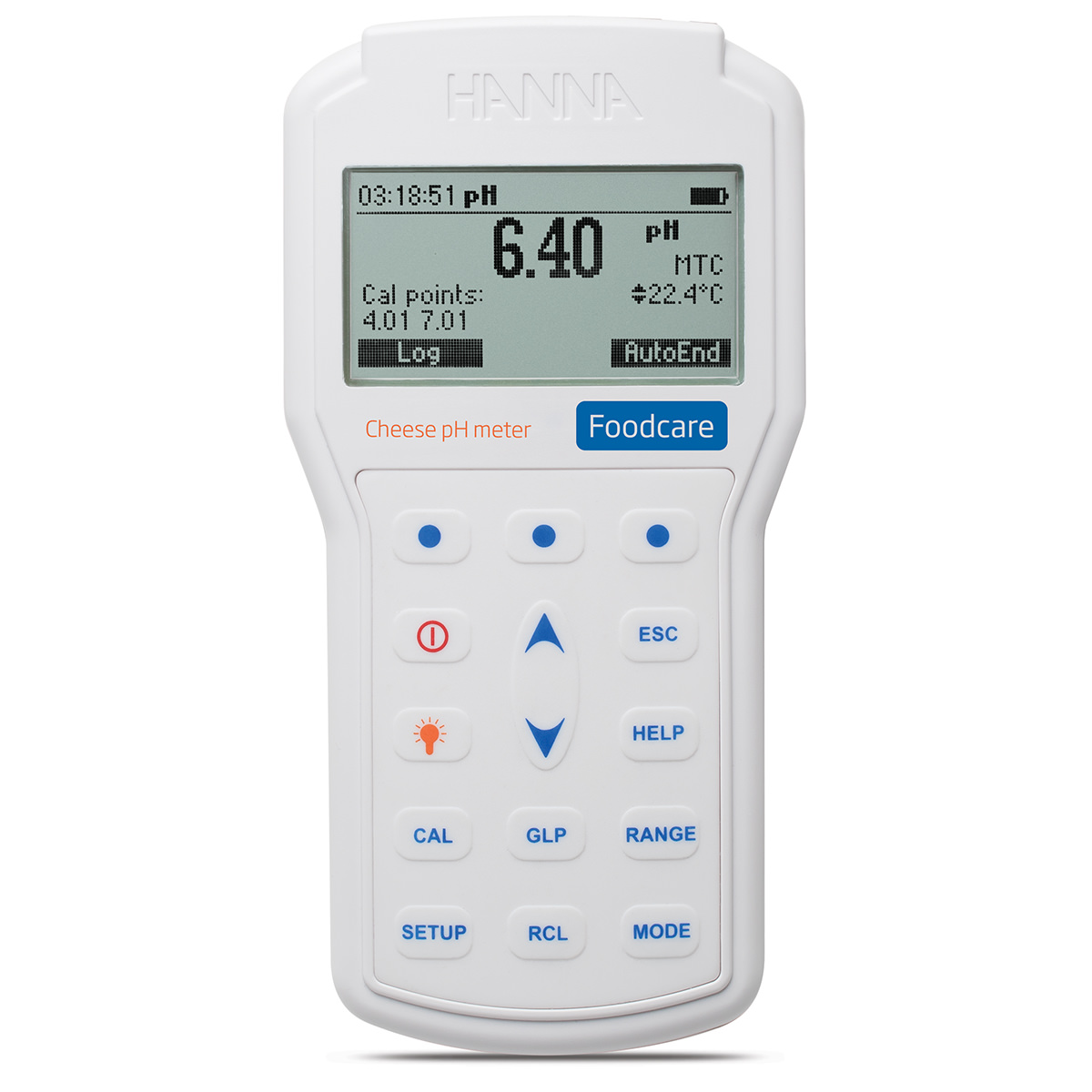 Professional Portable Cheese pH Meter - HI98165