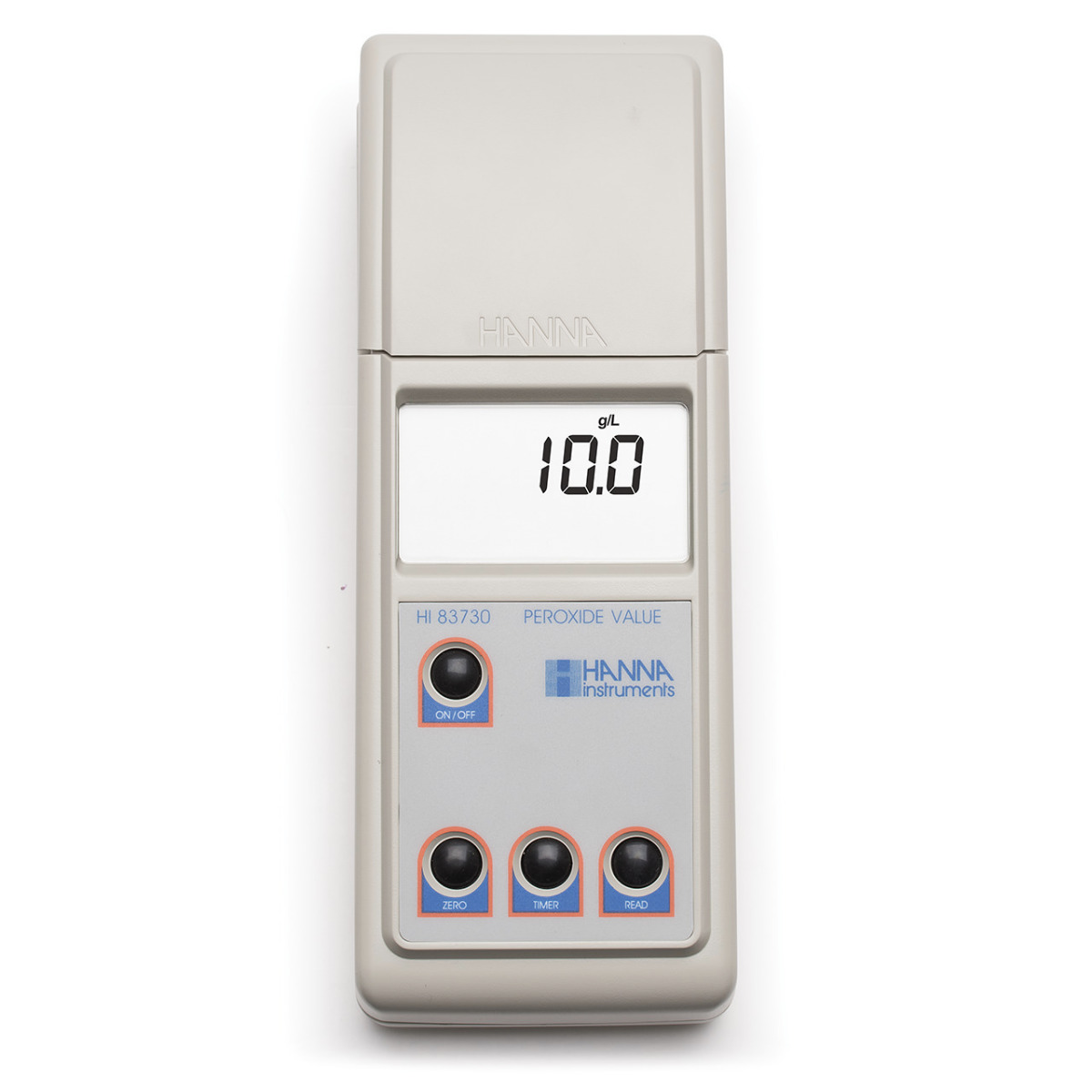 Portable Photometer for Determination of Peroxide Value in Oils - HI83730