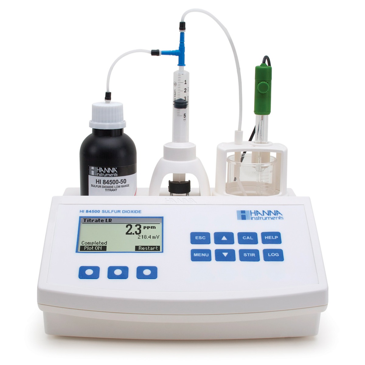 Mini Titrator for Measuring Sulfur Dioxide in Wine - HI84500