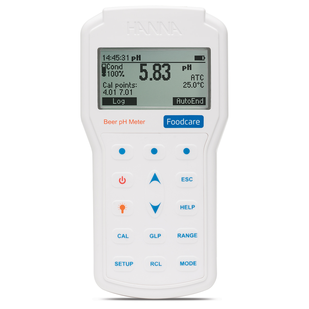 Professional Portable Beer pH Meter - HI98167