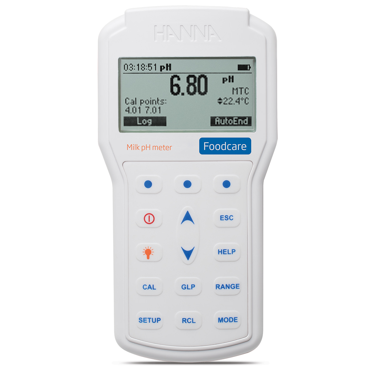 Professional Portable Milk pH Meter - HI98162