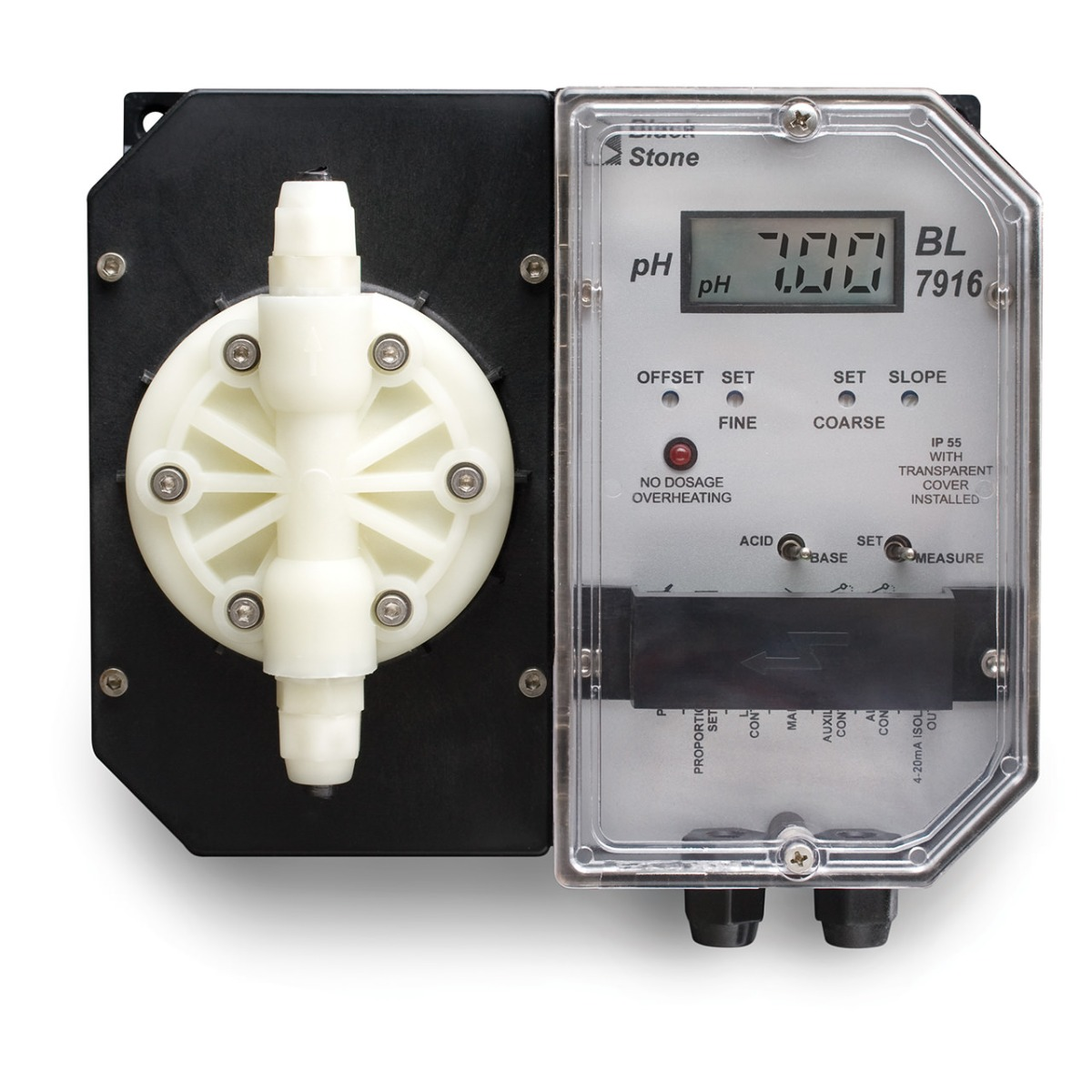 Wall Mounted pH Controller and Pump - BL7916