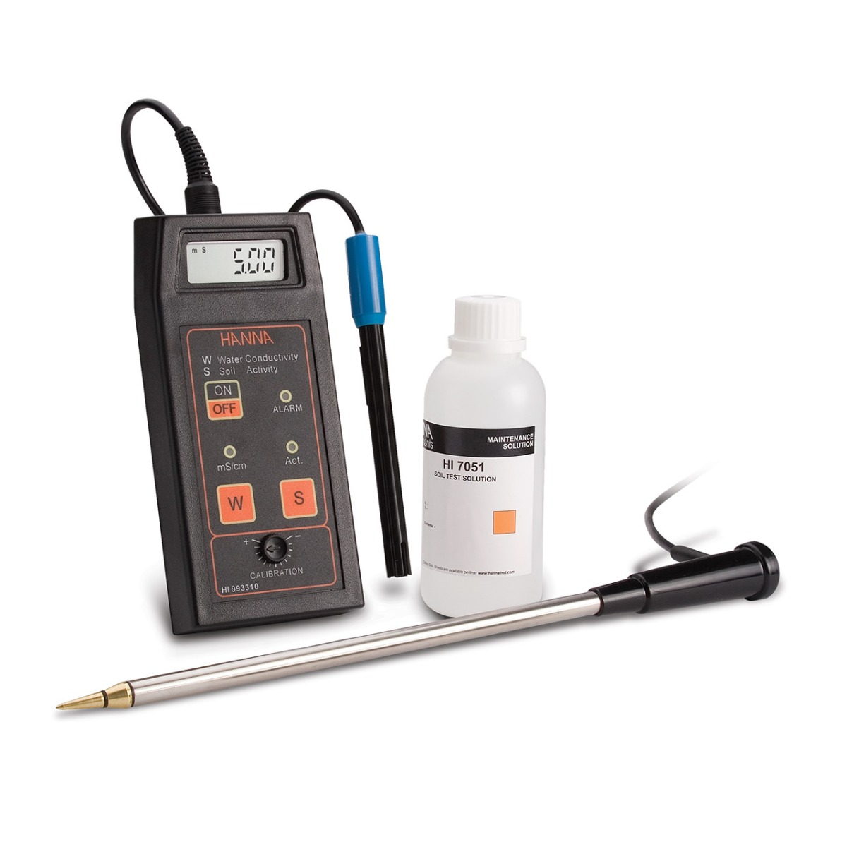 HI993310 Direct Soil Activity and Solution Conductivity Measurement Kit