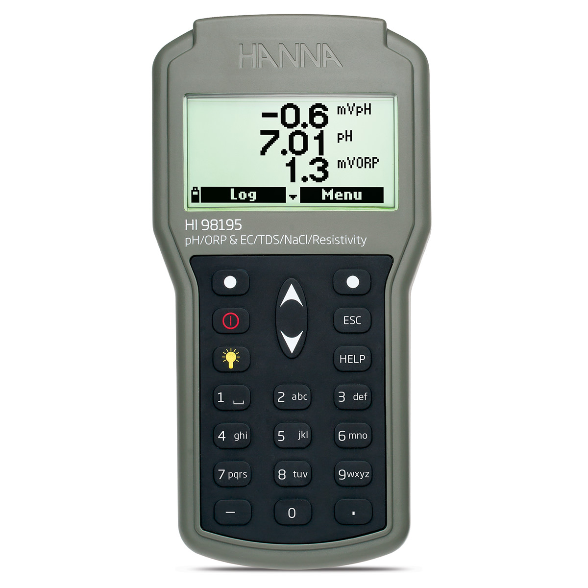 Multiparameter pH/ORP/EC/Pressure/Temperature Waterproof Meter - HI98195