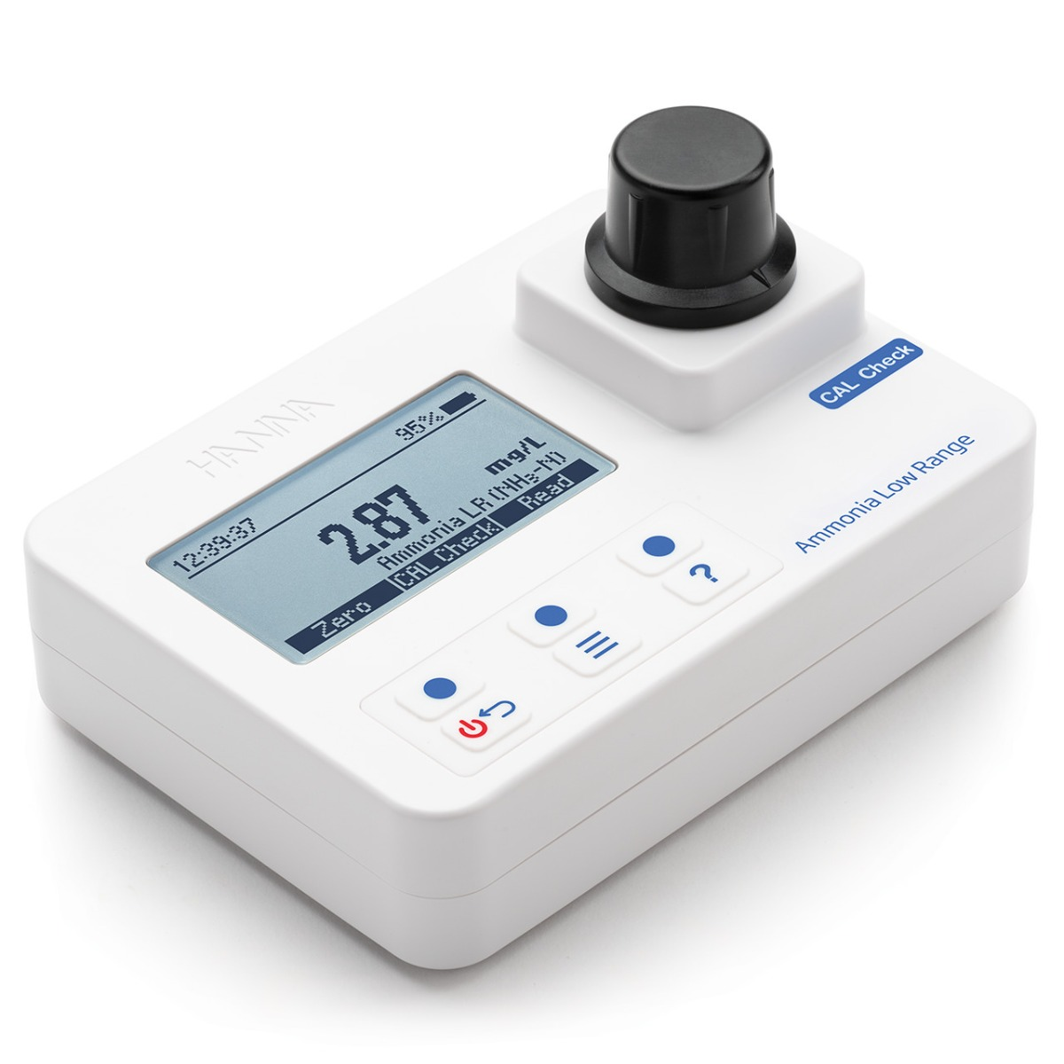 Ammonia Low Range Portable Photometer with CAL Check – HI97700