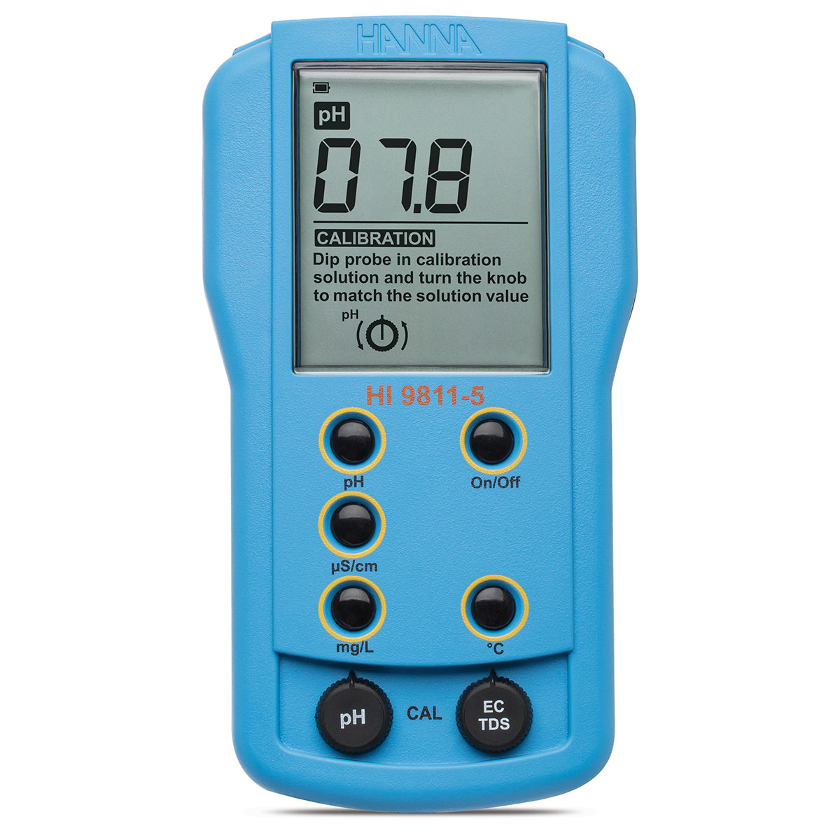 Portable pH/EC/TDS/Temperature Meter - HI9811-5