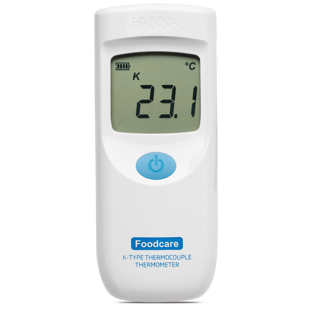 Foodcare K-Type Thermocouple Thermometer with Ultra-Fast Probe - HI9350011