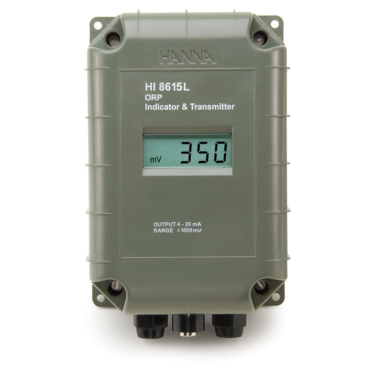 ORP Transmitter with 4-20 mA Galvanically Isolated Output - HI8615