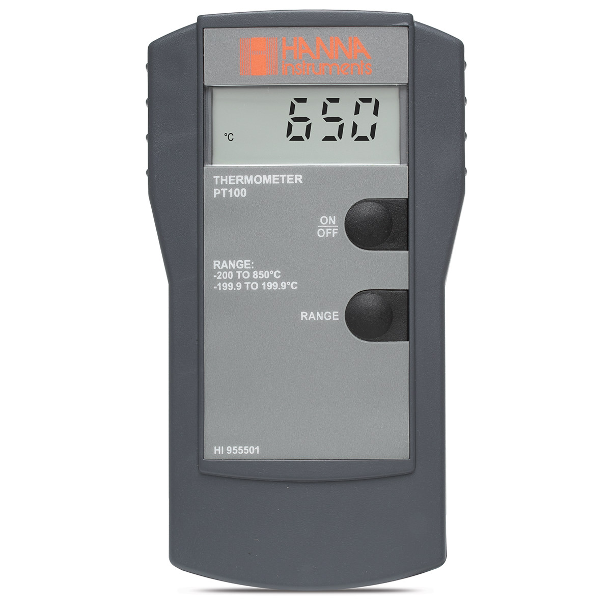 4-Wire Pt100 Thermometer - HI955501