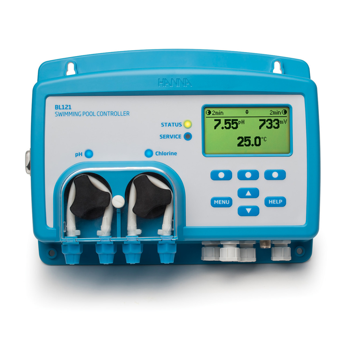 Cloud Enabled Swimming Pool Controller with Built-in Dosing Pumps