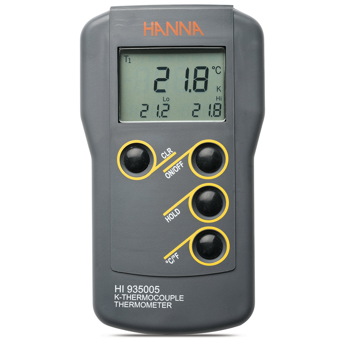 K-Type Thermocouple Thermometer with Auto-off Capability - HI935005