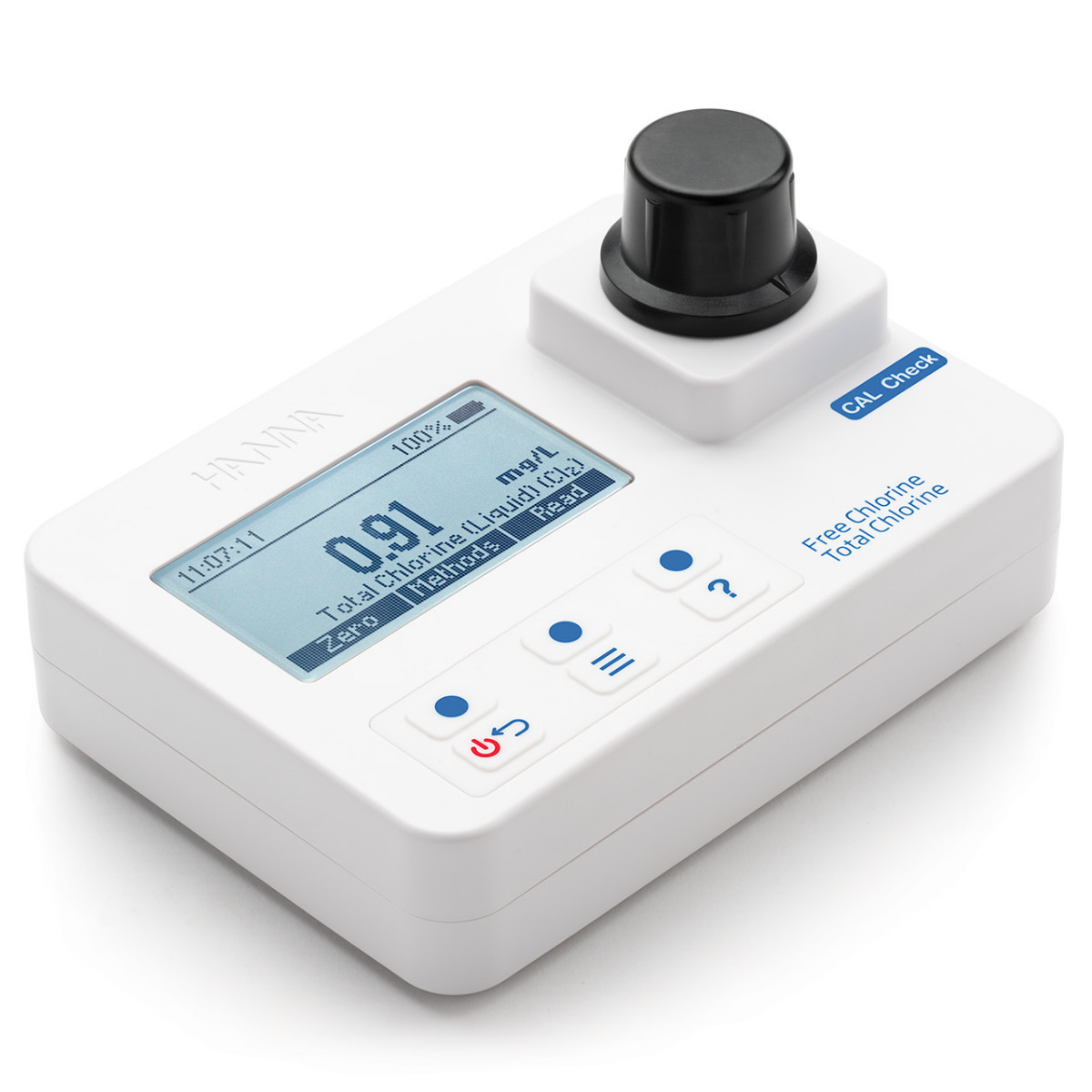Free and Total Chlorine Portable Photometer with CAL Check - HI97711