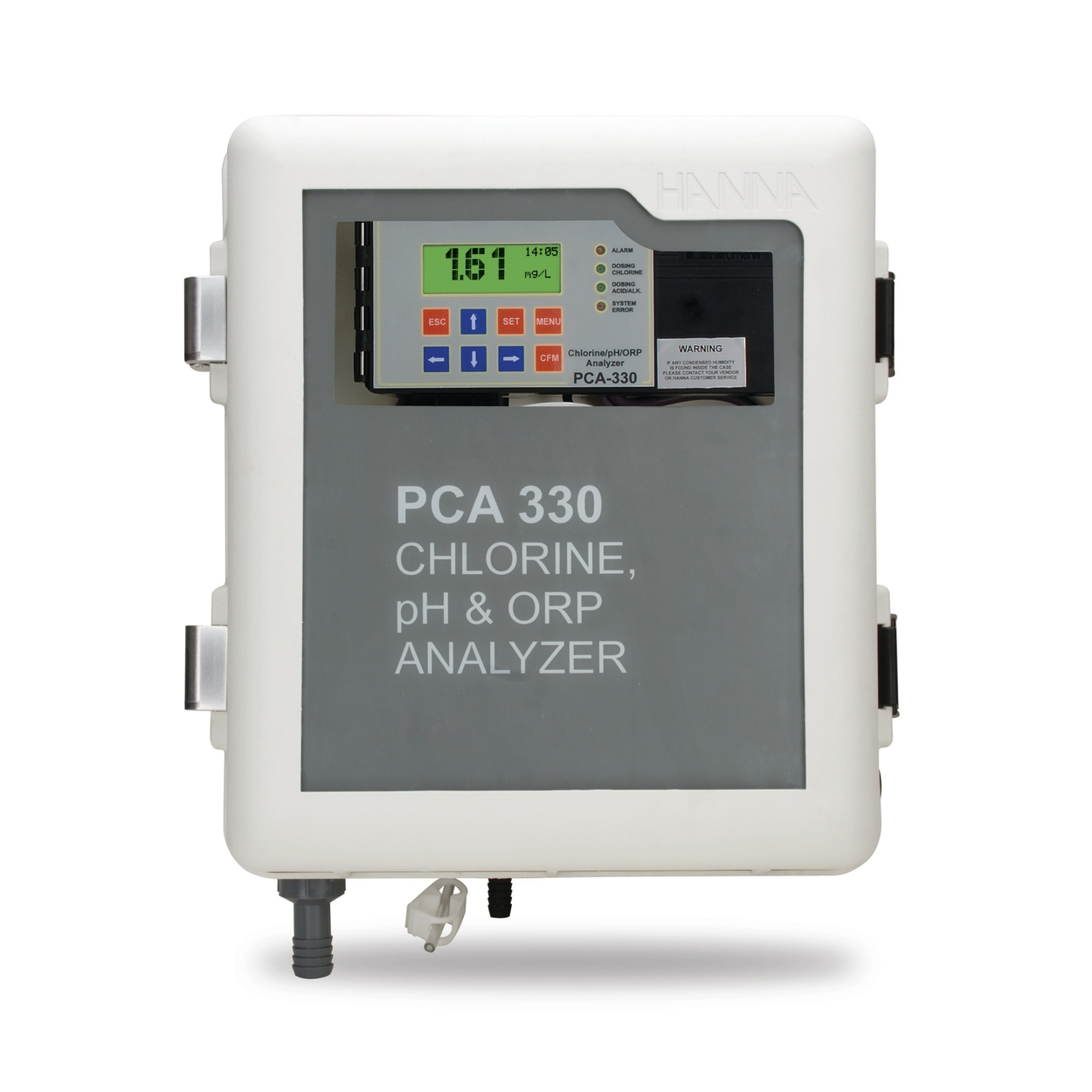 Chlorine pH ORP and Temperature Analyzers - PCA300 Series