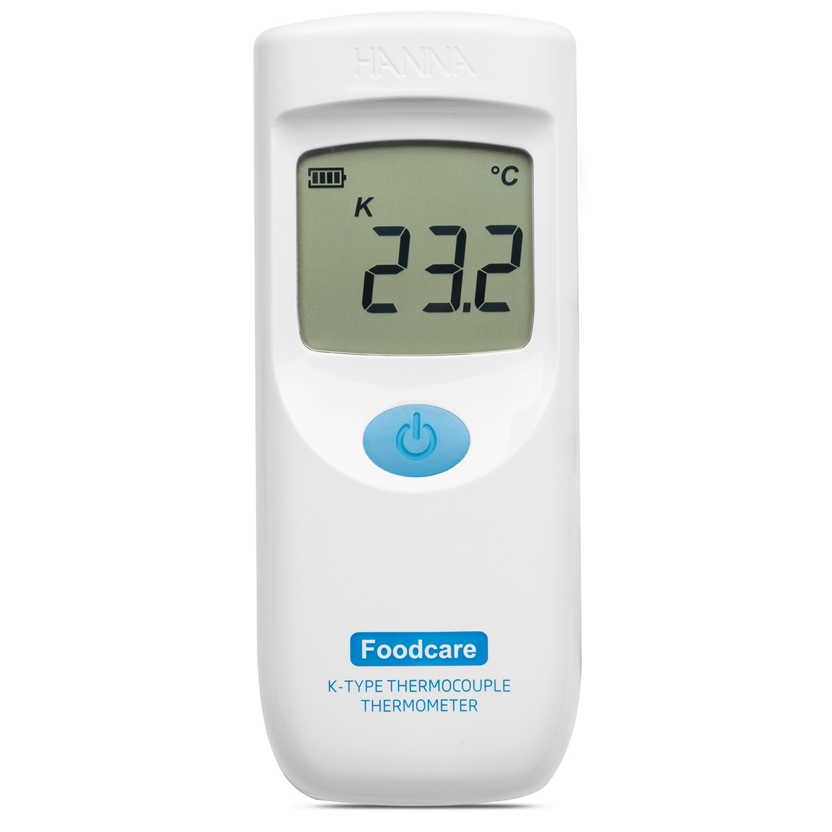 Foodcare K-Type Thermocouple Thermometer with Fixed Attached Probe - HI935007